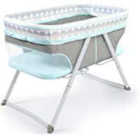 Ingenuity Foldaway Rocking Bassinet - Juniper - Portable Folding Rocking Bassinet