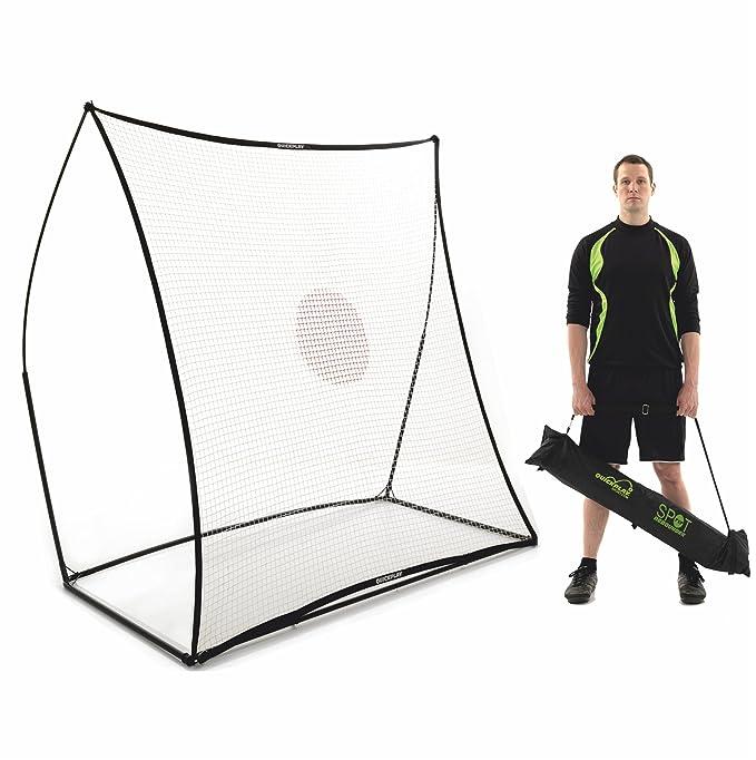 QuickPlay Sport Ltd Spot schwarz Ft 7 - Rebotador de pelota de béisbol, color negro, talla DE: 7x7 Ft: Amazon.es: Deportes y aire libre
