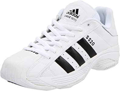 10 Adidas Star basket 5 2g da Super M biancoblackwhite da Scarpe uomo p7wq1Axz