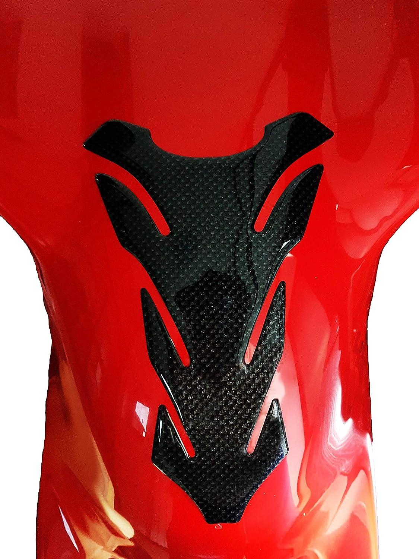 Quattroerre 18121/Protection pour r/éservoir MOTO Competition 3d Carbon Look