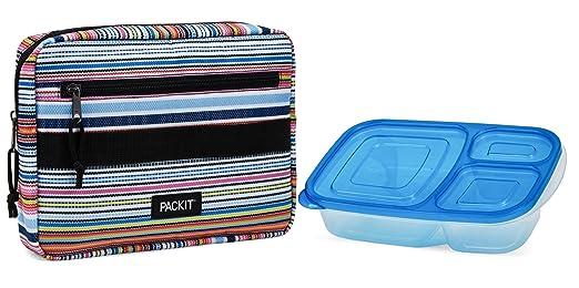 PackIt PKT-Bx-TDY Nevera Portátil, Azul (tye Dye), 3.5: Amazon.es ...