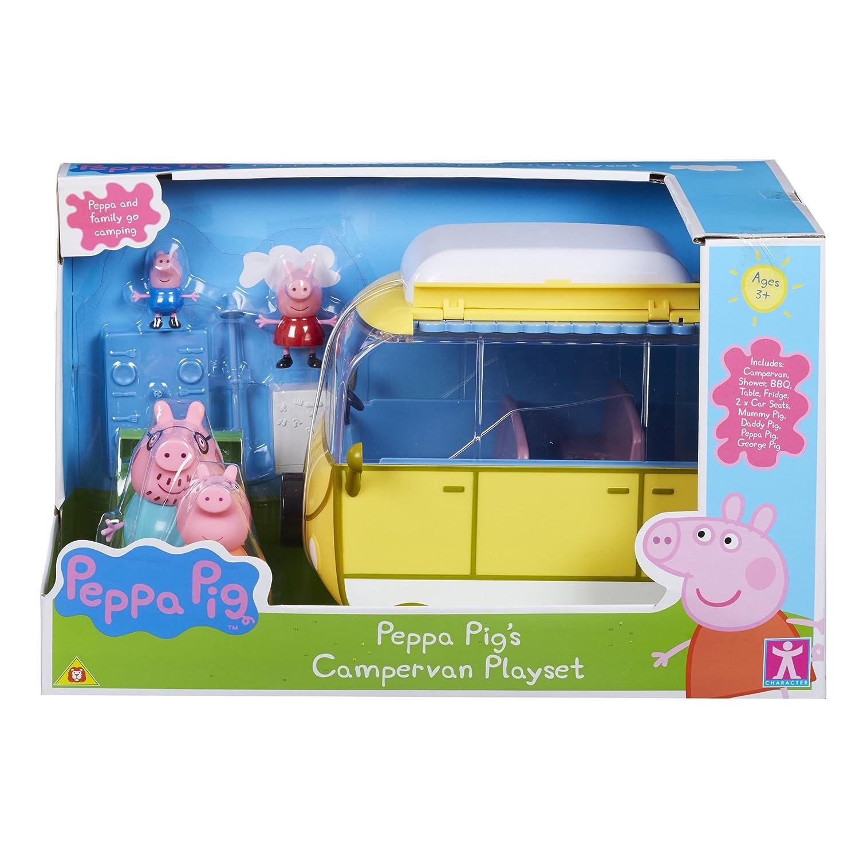 Set Character Options Peppa Pig 05332 Peppa Wutz-Figuren mit Wohnmobil