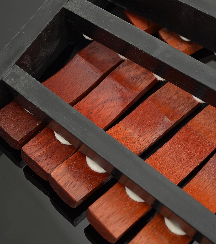 chromatisches Xylophon mit 25 massiven Palisander Rosenholz Noten ...