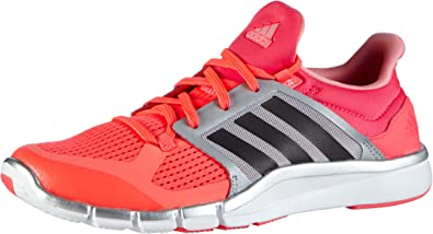 adidas Adipure 360.3 W - Zapatillas de Cross Training para Mujer, Color Rosa/Naranja/Plata/Gris, Talla 36 2/3: Amazon.es: Zapatos y complementos