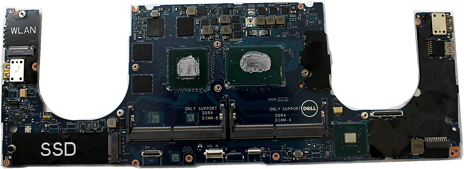 VCY38 Dell XPS 9570 Motherboard with Core i5-8300H CPU GTX 1050