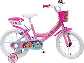 Disney - Bicicleta con ruedines y Cesta: Amazon.es: Juguetes y ...