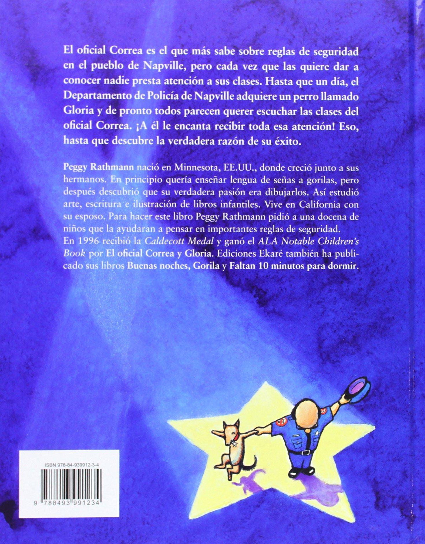 el oficial correa y gloria spanish edition peggy rathmann