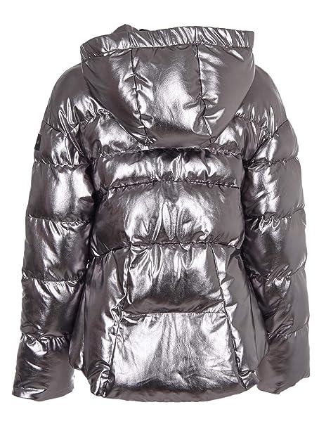 online store 1ef58 4fa97 Piumino Saluki Metallico Argento Pinko: Amazon.it: Abbigliamento