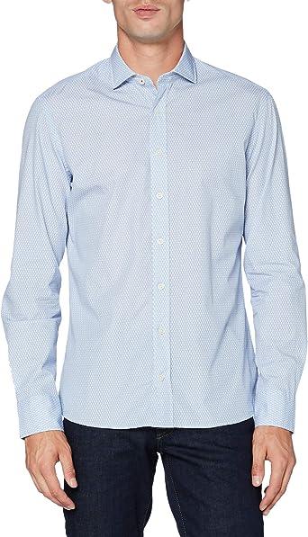 Hackett London Tennis Racket Print Camisa para Hombre: Amazon.es: Ropa y accesorios