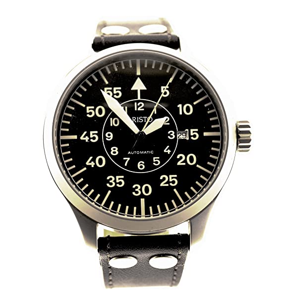 Aristo XXL 47 mm beobachtungs Reloj B de reloj Ref. 3h132 aristomatic: Amazon.es: Relojes