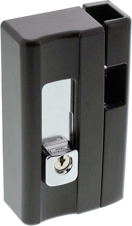 BlockSafe B1 BR SB VDs-anerkannt BURG-W/ÄCHTER Massive Fenstersicherung Pr/äzisions-Zylinderschlie/ßwerk