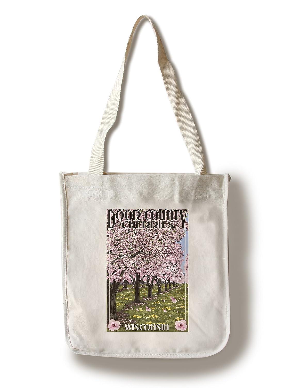 【楽ギフ_のし宛書】 ドア郡、ウィスコンシン – Cherry Cherry Blossoms 10 x 15 15 Wood 10 Sign LANT-34110-10x15W B01841RJUA Canvas Tote Bag Canvas Tote Bag, 仲南町:df113e27 --- arianechie.dominiotemporario.com
