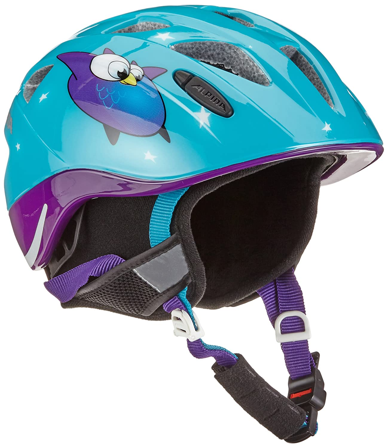 Alpina Kinder Radhelm Ximo Flash Winter Fahrradhelm