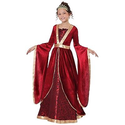 Girl's Renaissance Maiden Costume: Clothing