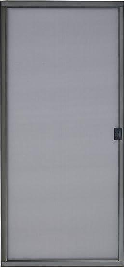 K D Heavy Duty Galv Steel Sliding Patio Screen Door Kit 36 X 80 Bronze 1 7 8 Frame Amazon Com