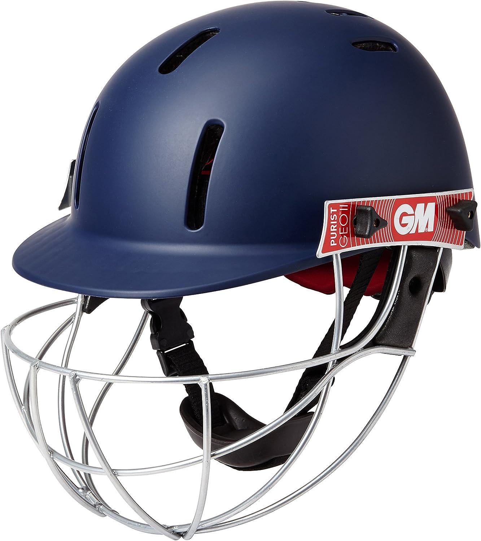 Gunn /& Moore Purist Geo II Helmet Cricket-Helm Navy L