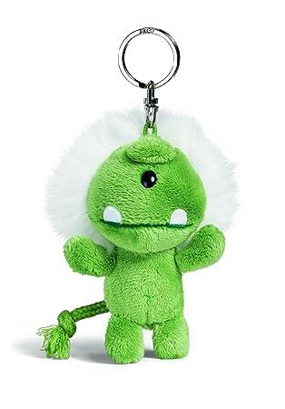 NICI 33382 - Llavero con monstruo de peluche, 10 cm, color verde