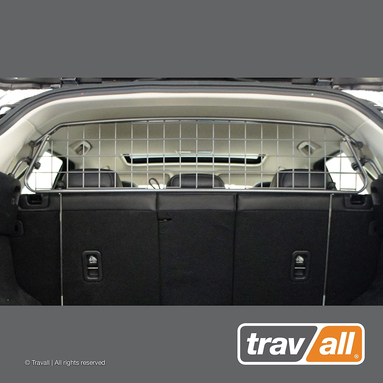 Travall Guard Compatible with Mazda CX-5 2017 – Current – Original Guard TDG1565 – Rattle-Free Steel Pet Barrier