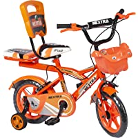 Speed bird cycle industries 12-T Robust Double Seat Biycles Baby Cycle (Orange)