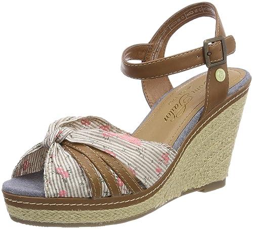 Tom Tailor 4890203 amazon-shoes beige Estate Comprar Barato Mejor Tienda Para Comprar 5t9hnreE