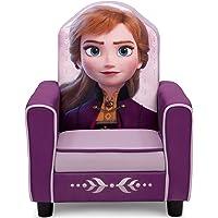 Delta Children Figural Upholstered Kids Chair, Disney Frozen II Anna