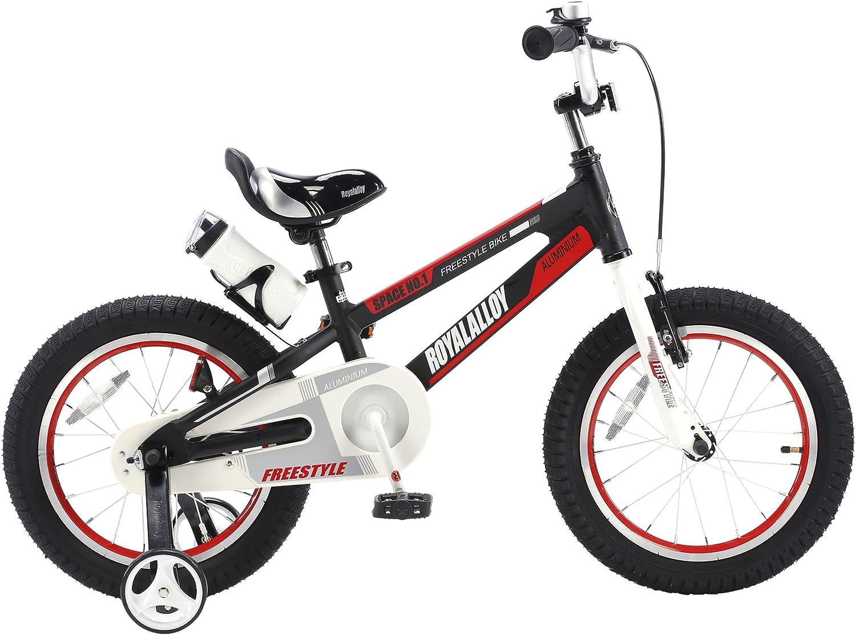 RoyalBaby Space No. 1 bicicleta de aluminio para niños para niños ...