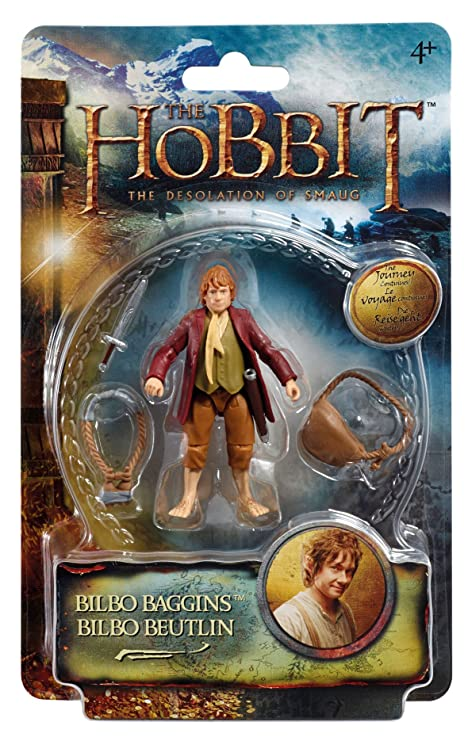 f560e54b9846 Amazon.com  The Hobbit Figure Bilbo Baggins Wave 2  Toys   Games