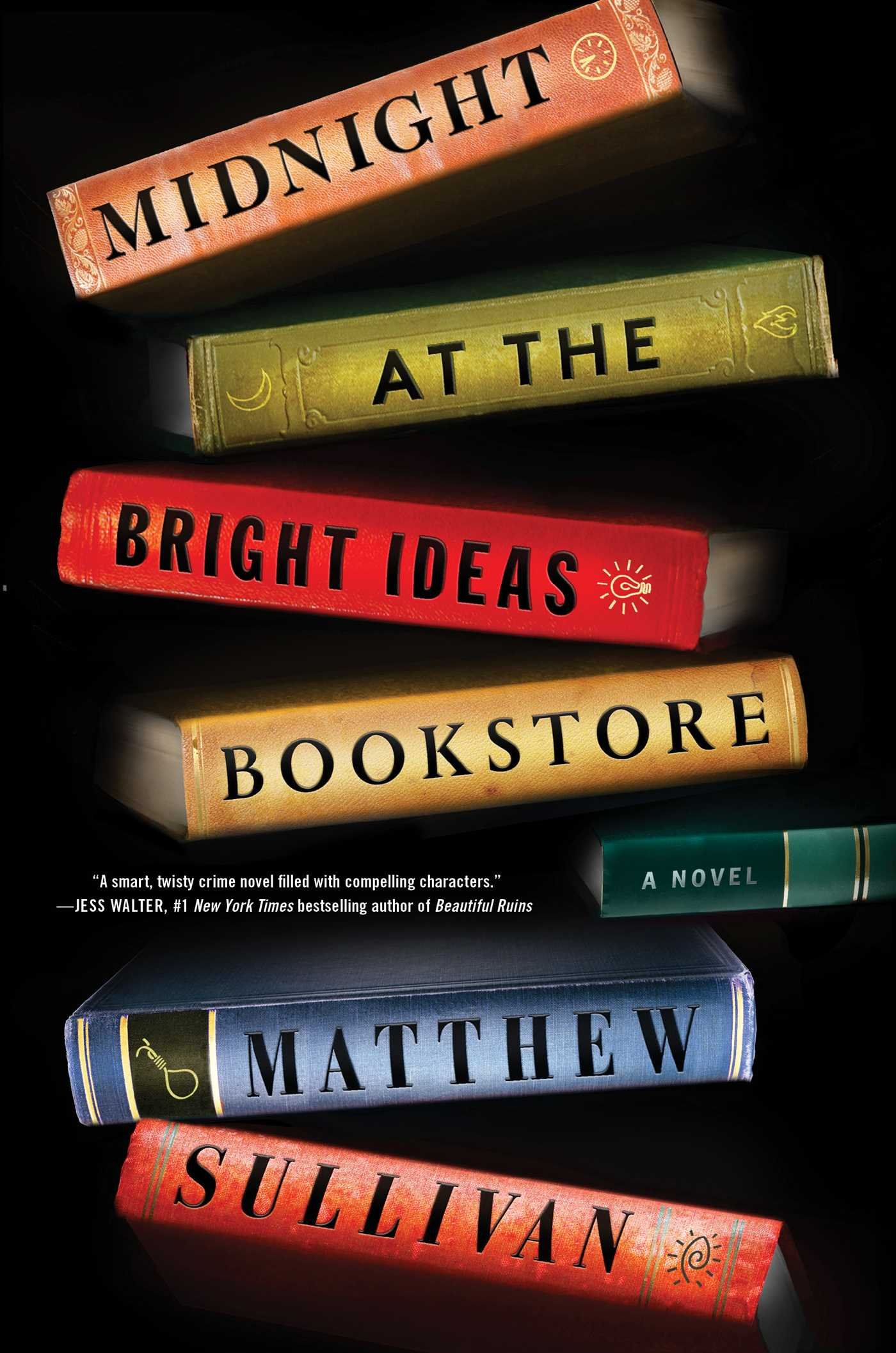 Image result for midnight at the bright ideas bookstore by matthew sullivan