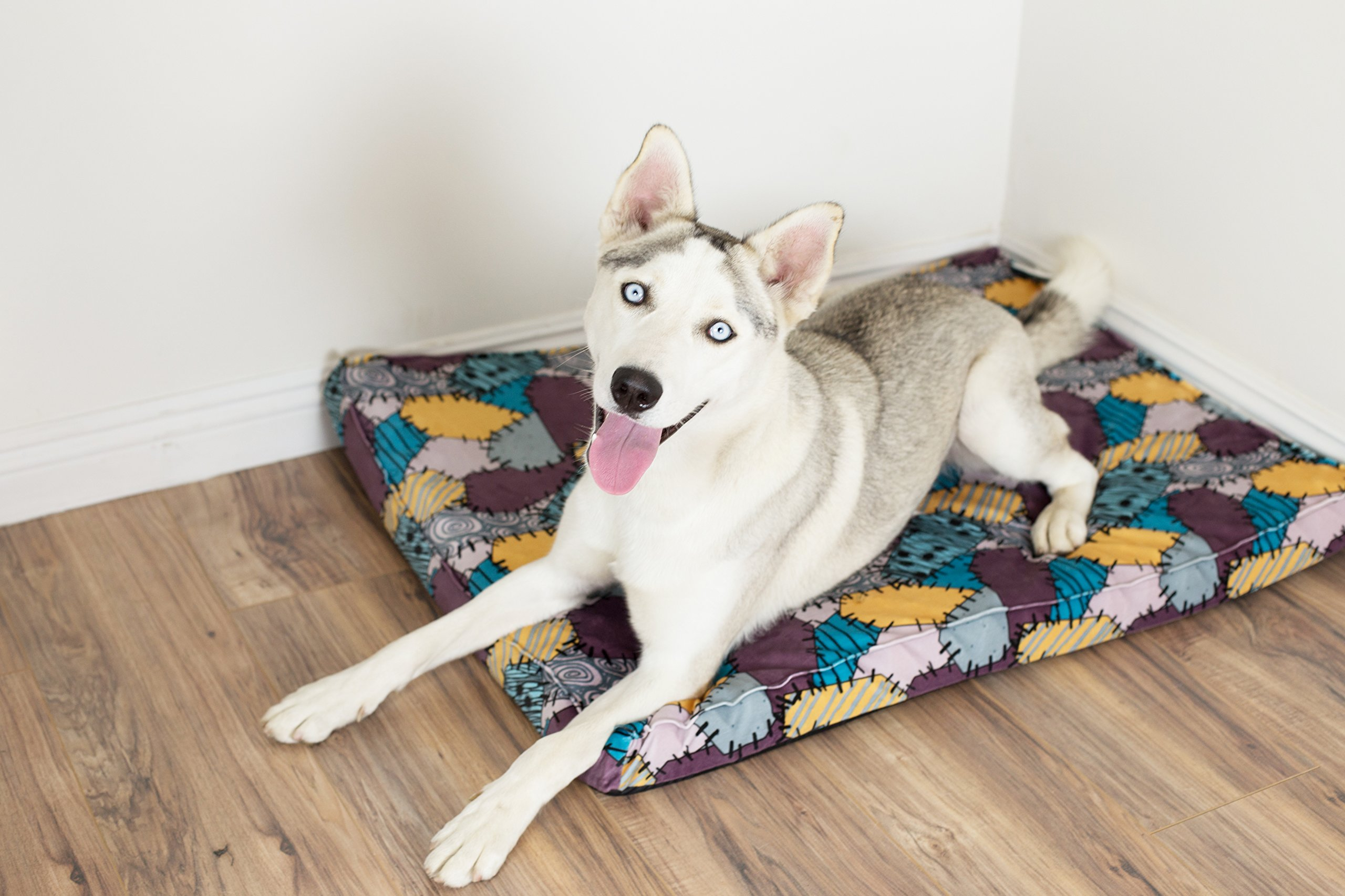 """Disney Nightmare Before Christmas Sally Orthopedic 2.5'' Joint Relief Breathable Dog Bed/Dog Mattress/Crate Mat, 27 x 36 x 2.5"""", Made with High-Density CertiPUR Foam, Dirt/Water Resistant Bottom by Disney (Image #2)"""
