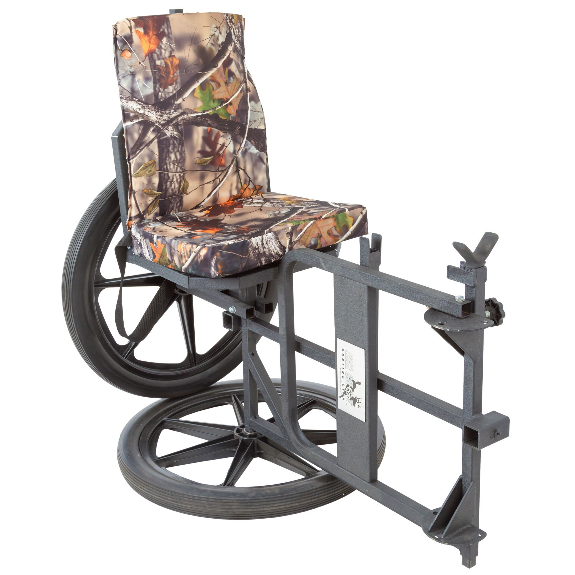 Kill Shot Throne Multipurpose Game Cart & Hunting Chair with Cushion by Kill Shot