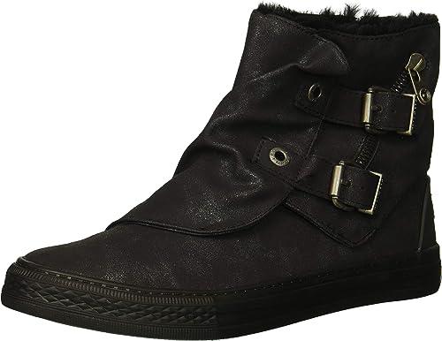 Blowfish Malibu Ladies Boots Koto Flat Ankle Zip Warm Lined Womens Fashion