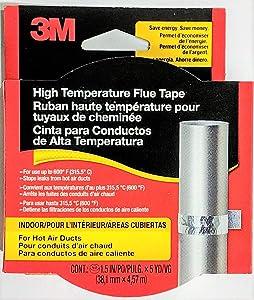 3M High-Temperature Flue Tape (2 Packs)