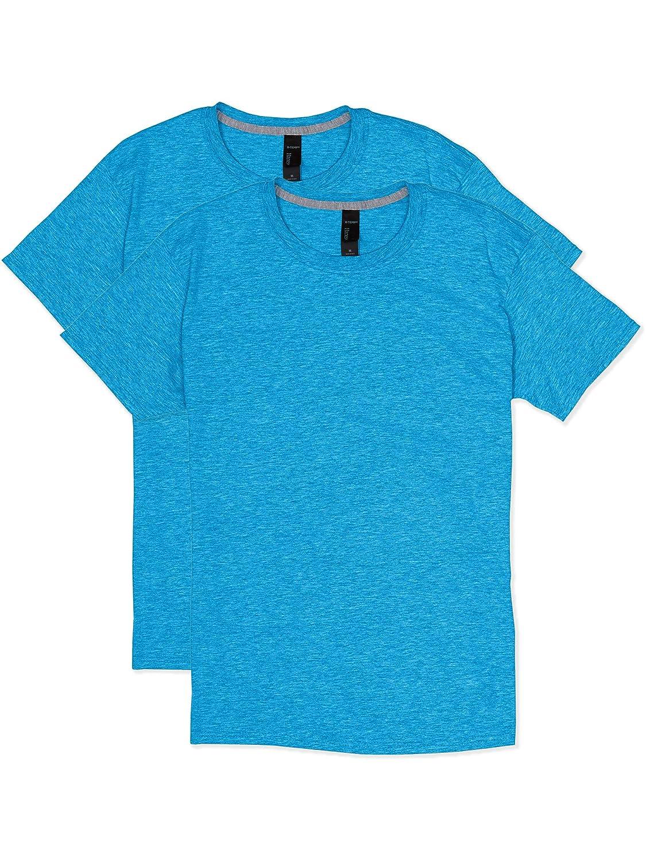 Hanes Mens 2 Pack X-Temp Performance T-Shirt