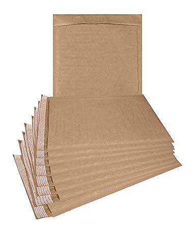 Amazon.com: Natural Kraft - Paquete de 25 sobres acolchados ...