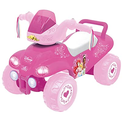Kiddieland Toys Princess ATV Ride On, One Size: Toys & Games