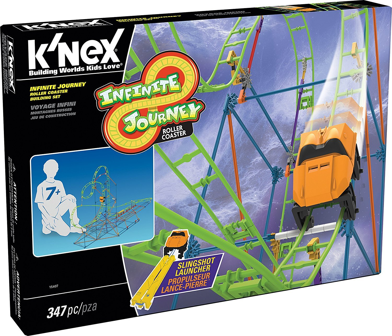 K/'Nex Infinite Journey Roller Coaster Building Set 15407
