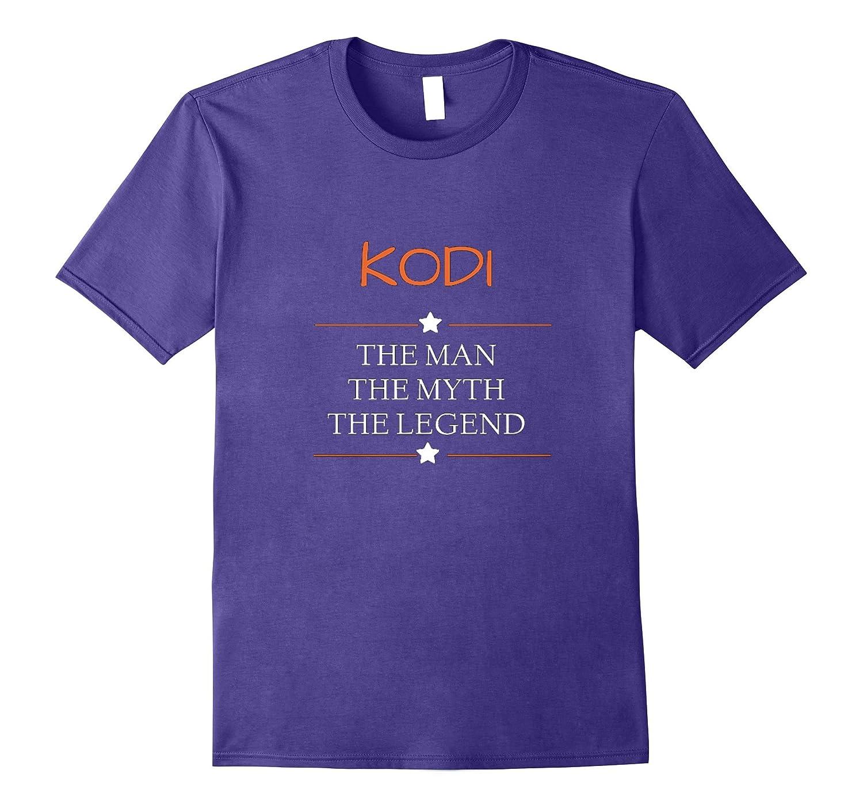 Kodi The Man The Myth The Legend T-shirt-Vaci
