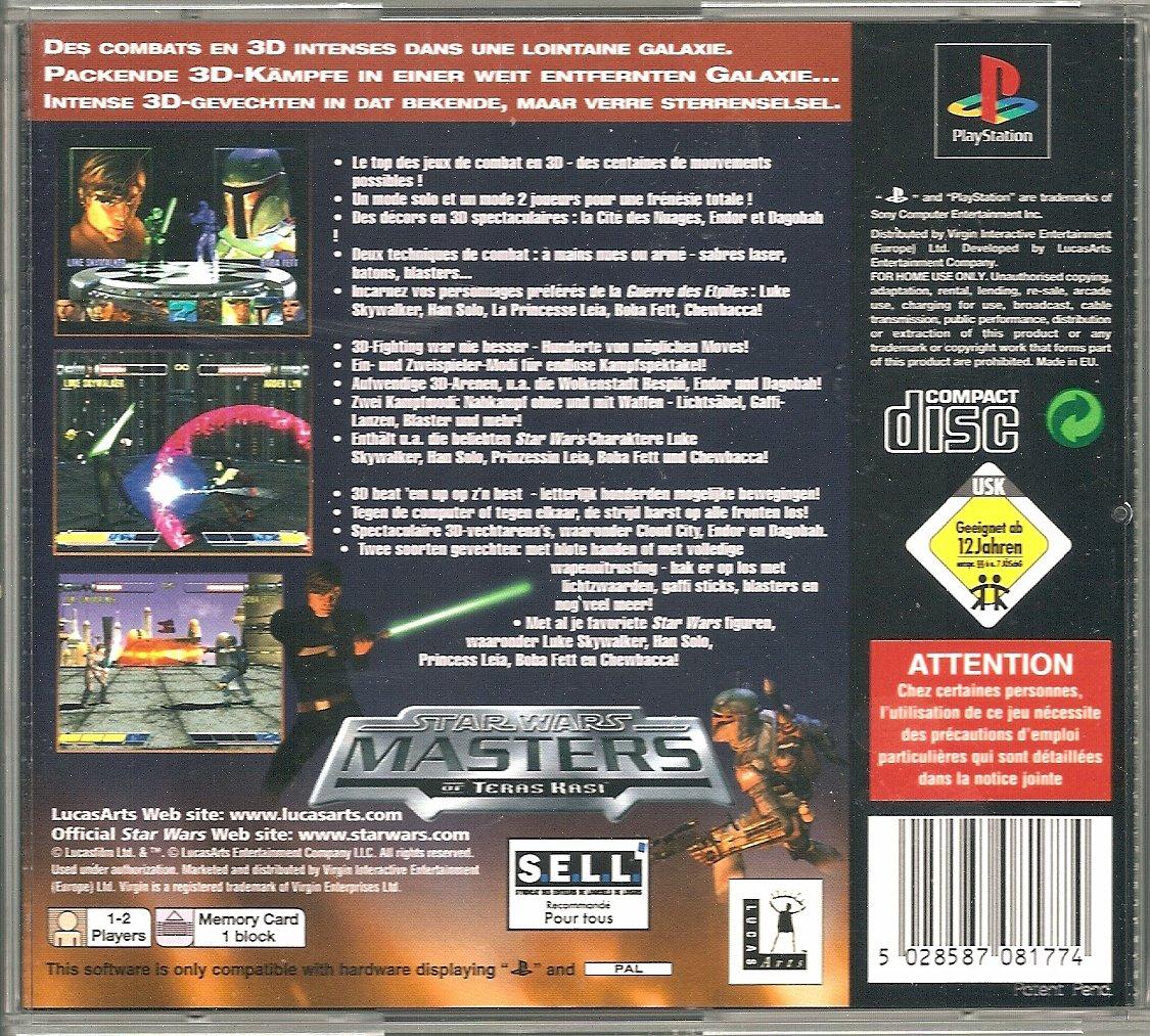 Amazon.com: Star Wars Masters of Teras Kasi: Software
