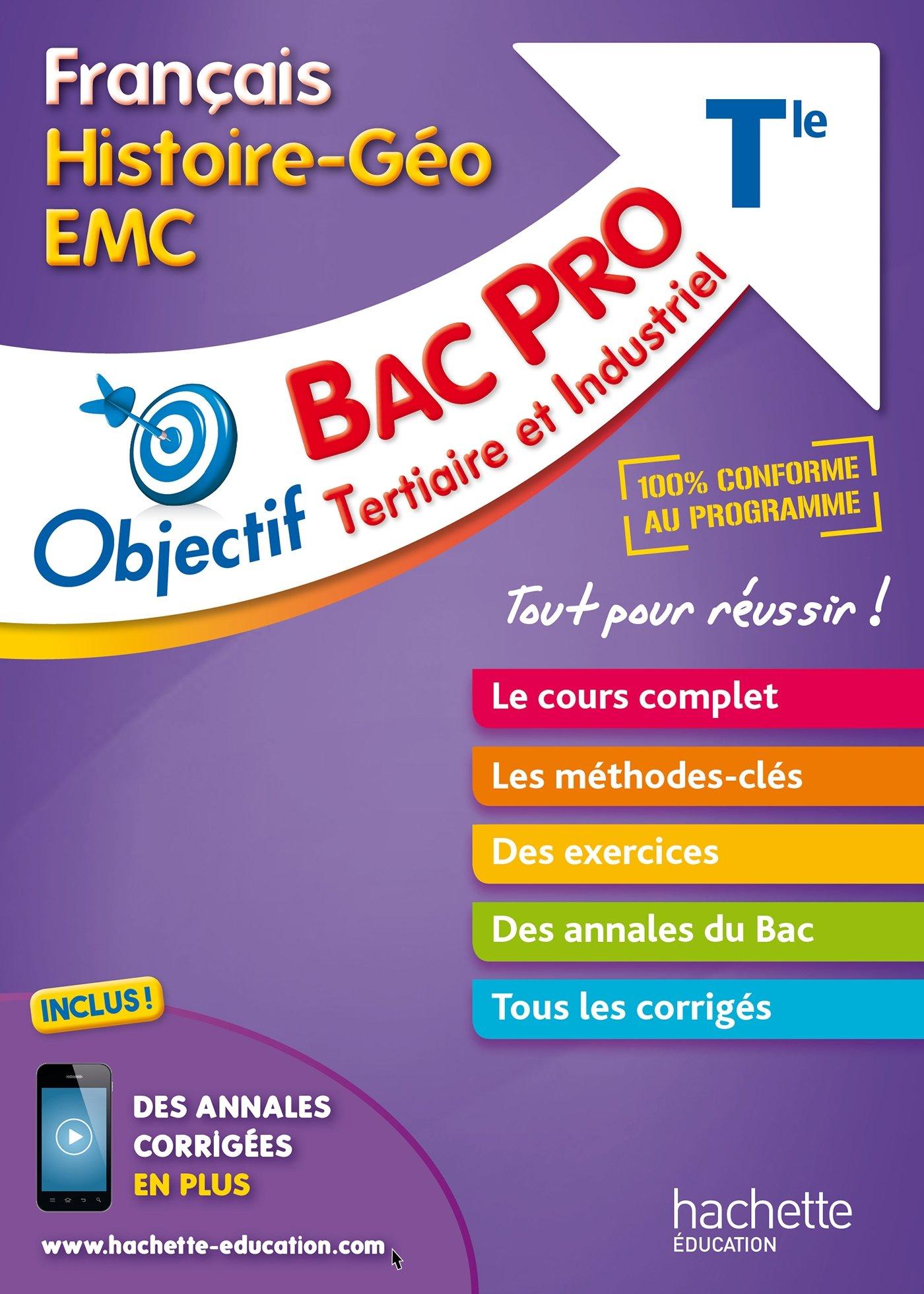 Objectif Bac Pro Français-Histoire-Géographie-Énseignement moral et civique Objectif Bac Pro - Fiches: Amazon.es: Jérémie Garcio, Arnaud de Soria, ...