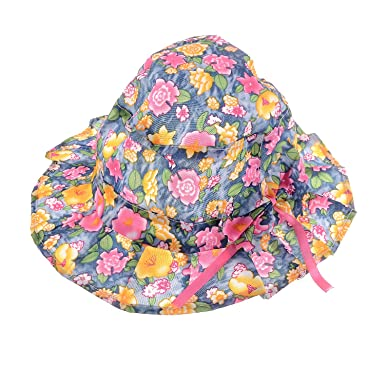 SHOP FRENZY Round Multi Colour Cotton Cartoon HAT for Kids Babies Girls for  Summer and Winter with Floral Print Pink (2-3 Years)  Amazon.in  Clothing    ... f6b6eeff4919