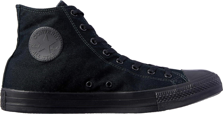 Converse , Baskets pour Femme Noir Black Monochrome