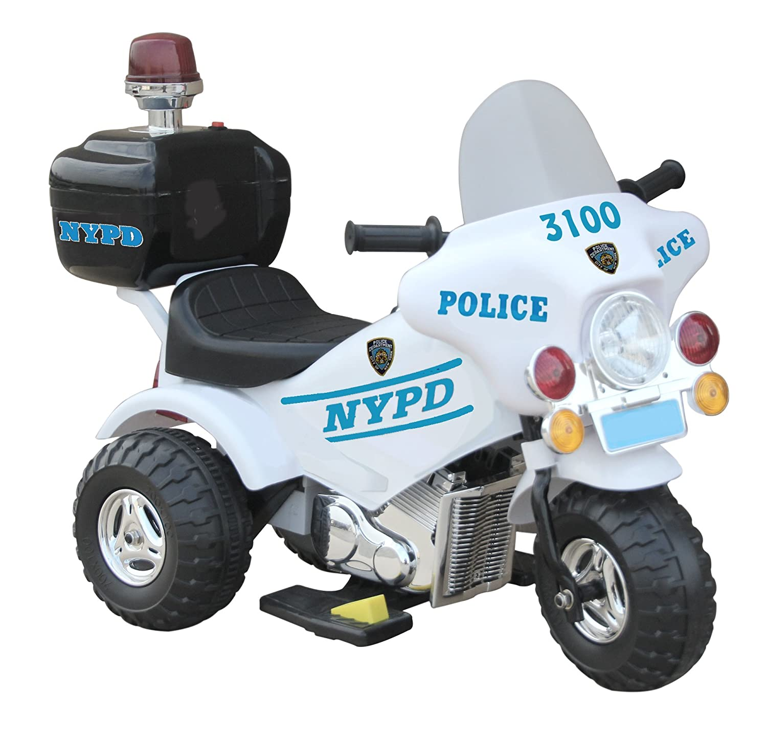 """Amazon """"NYPD Motorbike"""" Battery Powered Motorcycle Toys & Games"""