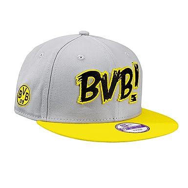 BVB Kinder Kappe 9 Fifty, grau gelb schwarz, One size, 2466619 ... e08a5cd424