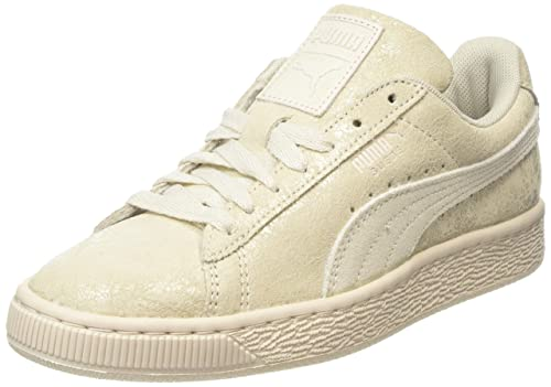 sale retailer 0cfd1 945ad Puma Suede Remaster, Women s Low-Top Sneakers, Off White (Birch 02)