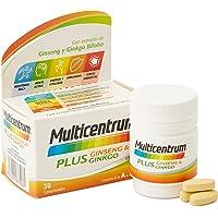 Multicentrum Plus Ginseng & Ginkgo, Complemento Alimenticio Multivitaminas con 13 Vitaminas, 11 Minerales, Ginseng y…