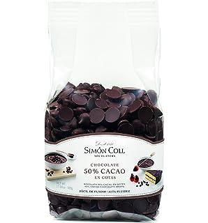 Simón Coll - Gotas de chocolate 50% cacao - 500 gr.