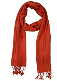 LOOK NEW - Maroon Pashmina scarf Shawl Wrap Stole For Women Girls ... 53569f7670648