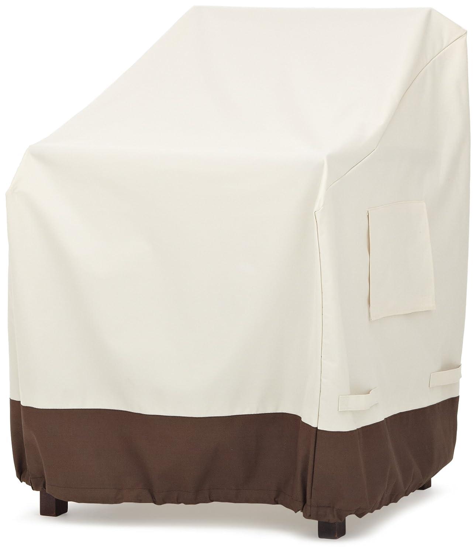 AmazonBasics - Copertura per sedia con braccioli, set da 2 55-377-016201-11