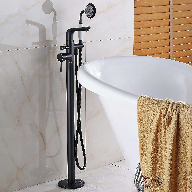 Awesome Floor Mount Tub Faucet Oil Rubbed Bronze Vignette - Faucet ...