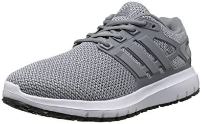 adidas Performance Men's Energy Cloud Wide m Running Shoe, Grey/Grey/Clear  Grey
